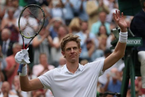 Marathon man: South Africa's Kevin Anderson