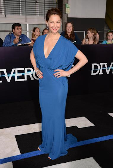 "Ashley Judd arrives at the world premiere of ""Divergent"" at the Westwood Regency Village Theater on Tuesday, March 18, 2014, in Los Angeles. (Photo by Jordan Strauss/Invision/AP)"