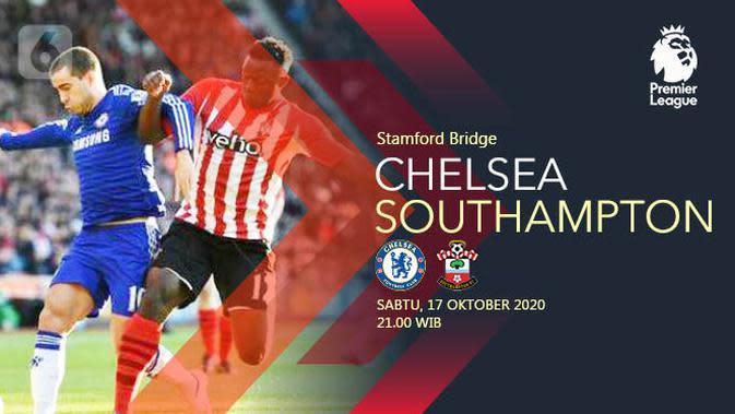Chelsea vs Southampton (Liputan6.com/Abdillah)