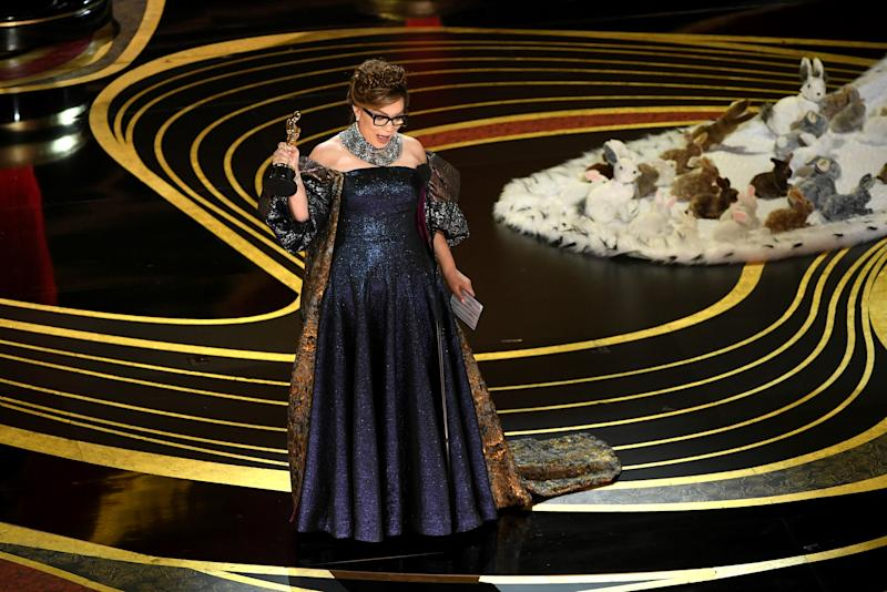 Ruth E. Carter accepts the Costume Design award for 'Black Panther' during the 91st Annual Academy Awards on Feb. 24, 2019. | Kevin Winter—Getty Images