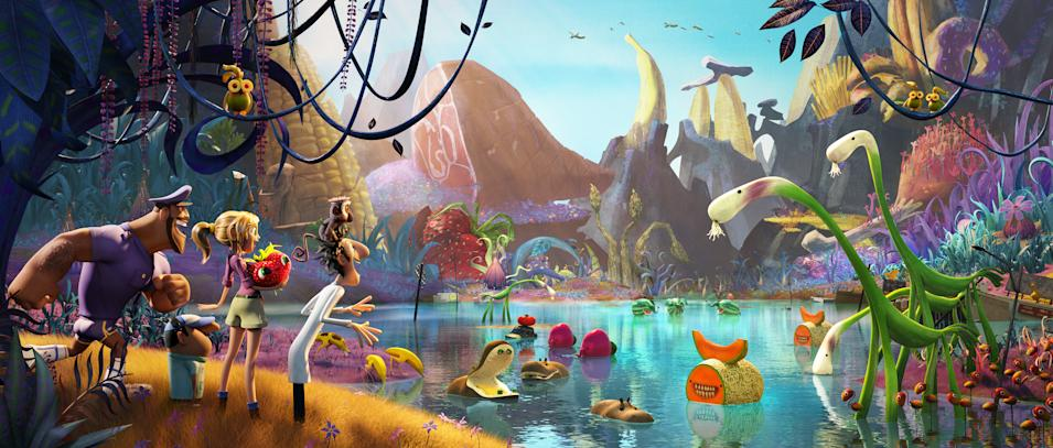 Cloudy With a chance of meatballs 2 still 1
