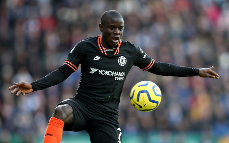 Kante returns to contact training at Chelsea ahead of Premier League return