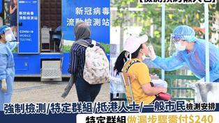 【檢測預約懶人包】強制檢測/特定群組/抵港人士/一般市民檢測安排 附登記檢測連結、社區檢測中心地點
