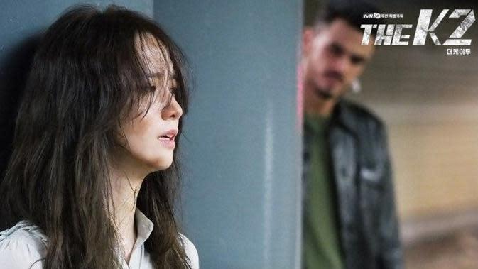 YoonA di The K2 (tvN via Soompi)