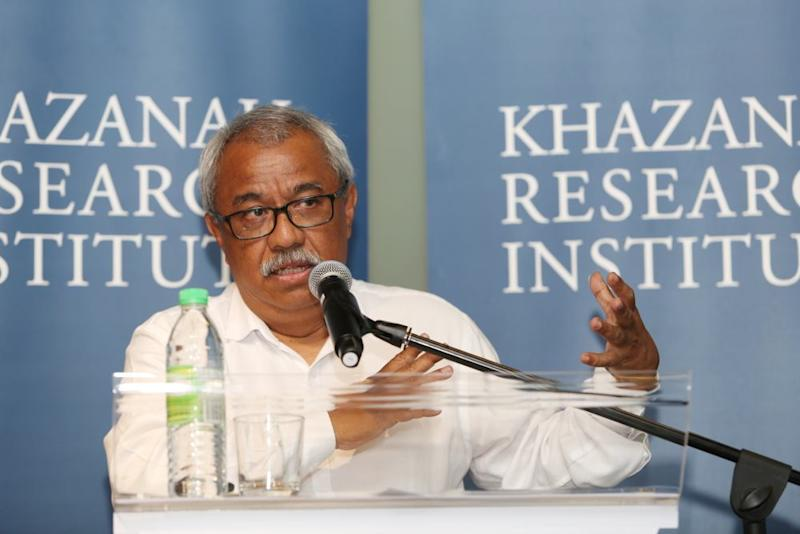 Khazanah Research Institute chairman Nungsari Ahmad Radhi has today confirmed his resignation from the outfit. ― Picture by Choo Choy May
