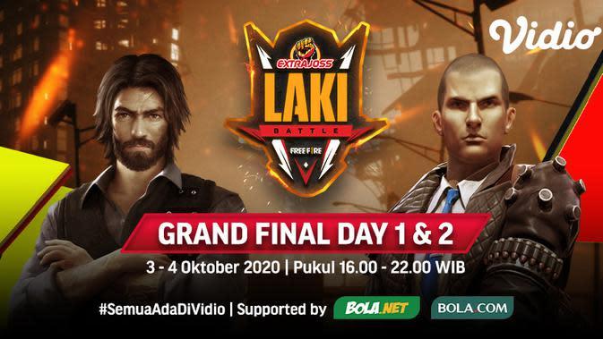 Saksikan Live Streaming Grand Final Day 2 Extra Joss Laki Free Fire, Minggu 4 Oktober 2020
