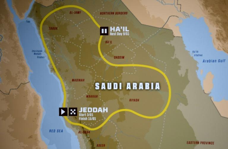 Dakar Rally organisers have unveiled the route for next year's event in Saudi Arabia