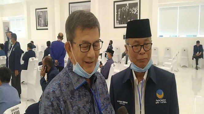 Nasdem Dukung Paman Bobby Nasution di Pilkada Tapanuli Selatan