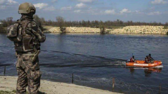 Gawat, Kelompok Militer Misterius Yunani Tembaki Kapal Polisi Turki