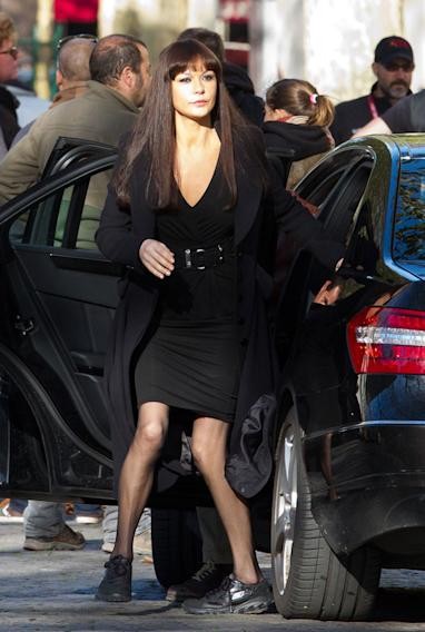 Spotted on Set, Catherine Zeta Jones