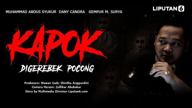 VIDEO: Kapok Digerebek Pocong
