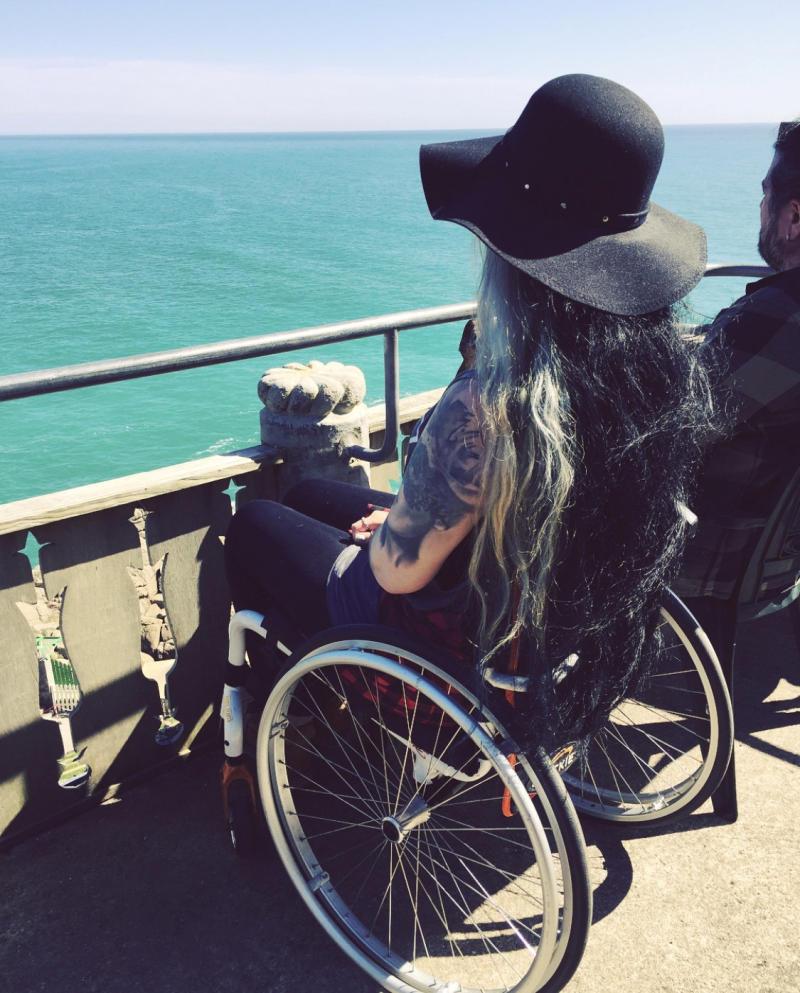 Wheeler now often has to use a wheelchair. (SWNS)