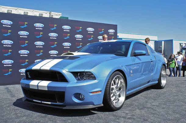 One-off 2013 Shelby GT500 Cobra is an 850-hp tribute to Carroll Shelby