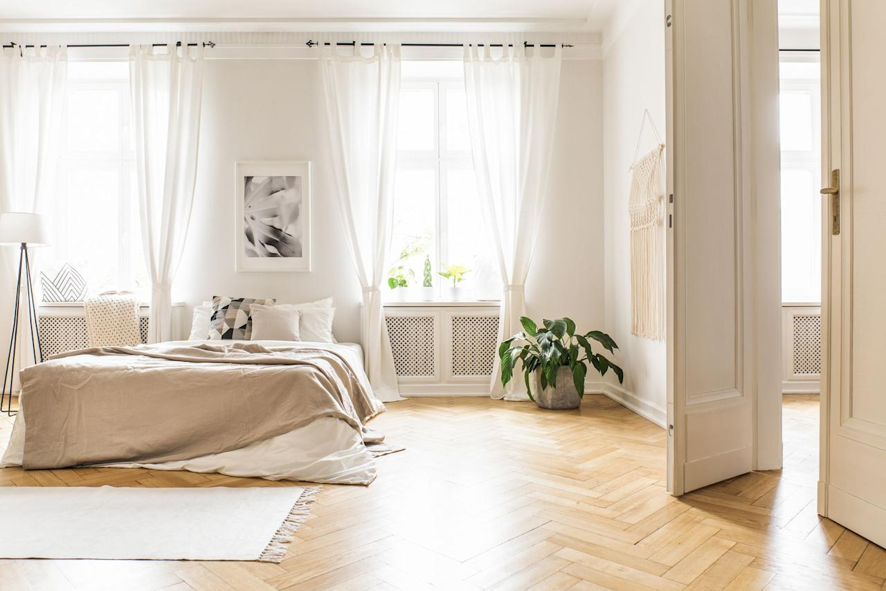 "<p>Much like a rug is the foundation of a room, <a href=""https://www.housebeautiful.com/room-decorating/g811/designer-window-treatments/"" target=""_blank"">window treatments</a> are the finishing touches—and often, a space just doesn't feel complete without some form of curtains or shades. The right window treatments can make a room feel more cohesive, or even serve as a standout statement piece in their own right. But, shopping for curtains and other window treatments can be tricky, since you need to know what will work in your space based on your windows and lighting, get the correct sizing (which can be a challenge in its own right!), <em>and</em> keep all of that in consideration while you also look for the perfect aesthetic, too. </p><p>To help, here's a quick breakdown of what to think about before you buy curtains and other window treatments—<strong>or, you can <a href=""#wheretoshop"">click here</a> to skip right to shopping some of our favorite brands. </strong></p><h2 class=""body-h2"">What to Consider Before You Buy Curtains</h2><p>Before you start shopping, it'll help to ask yourself a few key questions, based on your personal taste and the space your outfitting with drapery. </p><h3 class=""body-h3"">What Exposure Do You Want?</h3><p>The <a href=""https://www.housebeautiful.com/room-decorating/a30704691/types-of-curtains/"" target=""_blank"">exposure you choose</a> is based both on <strong>function <em>and</em> style</strong>—you might like the look of sheer curtains, but if you need to block some of the light that comes in or need an option that will provide you with more privacy, you'll need to find an alternative, like maybe a semi-sheer. These are just a few of the most common options you'll come across:</p><ul><li><strong>Sheer: </strong>Do you want a see-through curtain that won't provide any coverage or light blockage, but will give you an airy, open feel?<strong></strong></li><li><strong>Semi-sheer: </strong>Do you want your curtains to offer <em>some</em> privacy coverage, but still allow natural light to filter in?<strong></strong> </li><li><strong>Blackout: </strong>Do you want the most privacy possible, <em>and</em> the option to completely block out light? </li></ul><h3 class=""body-h3"">What Header Style Are You Into?</h3><p>Having a style in mind can help you shop for curtains—especially when you're shopping at a big retailer like Wayfair or Amazon—since it allows you to narrow down your search. Just pop in the keywords or filter based on your preferred styles, and it'll be a lot easier to browse until you find the perfect drapes. Or, if you're going custom, knowing your favorite style going in can help make sure that you get your dream curtains. </p><p>In any case, there are multiple header styles to know, from <strong>rod pocket and grommet to pinch pleat, box pleat, ripple fold, and more.</strong> You can read the full breakdown of these styles (and different exposures, too!) in <em>House Beautiful's</em> guide to <em></em>all the different <a href=""https://www.housebeautiful.com/room-decorating/a30704691/types-of-curtains/"" target=""_blank"">types of curtains</a>.</p><ul></ul><h3 class=""body-h3"">What Size Do You Need?</h3><p>Sizing is super important, because there's nothing more frustrating than falling in love with a set of curtains, ordering them, and hanging them up only to find out they're too short or way too long. So, before you buy—and really, before you even shop (this is yet another way narrowing can help you while you browse online!)—<strong>make sure you've measured correctly.</strong> Be sure to also factor in where your curtains should hang from, and don't just measure from the top of the window frame. To make the space look its best, biggest, and brightest, hang your floor-length drapes either <strong>two inches below the ceiling, or four inches above the window</strong><strong>.</strong> </p><p>Designer Leann Baker, who shared some <a href=""https://www.housebeautiful.com/room-decorating/a29355152/the-dos-and-donts-of-choosing-window-treatments/"" target=""_blank"">window treatment dos and don'ts</a> with <em>House Beautiful,</em> also suggests factoring in ""puddling""—when some of the fabric of floor length curtains gathers a bit on the floor—in your measurements. With thicker drapes, you'll get a heavy, formal look; whereas puddling in sheer curtains is all about those cozy vibes. <em></em></p><p>Sizing also goes beyond just getting the measurements right, because you also have to <strong>think about function</strong> <strong>when you think about sizing.</strong> Curtains don't always—and frankly, shouldn't always—necessarily be floor-length. Café-length curtains (that go to the windowsill instead) would be ideal in a kitchen—especially since it's a high-traffic area of the house—Baker explained. You might even consider skipping curtains altogether and going with a Roman shade in the kitchen, for example. </p><hr><p><a class=""body-link""></a></p><h2 class=""body-h2"">Where to Buy Window Treatments</h2><p>All of these brands have plenty of pretty curtains to choose from, whether you're going high-end and custom on a big budget or you're buying from one of your go-to retailers at a smaller price point. But, that's not all. Most of the options on this list specialize in window treatments in general, and that means they go well beyond curtains and drapes. So, if you're looking for blinds or shades (of just about any variety: Roman, roller, pleated, honeycomb—you name it!) you're covered, too. </p><p>And if you're not sure what type of window treatment you need for your space, <em>House Beautiful's</em> <a href=""https://www.housebeautiful.com/home-remodeling/interior-designers/a29268889/types-of-window-treatments/"" target=""_blank"">guide to window treatments</a> can help.</p>"