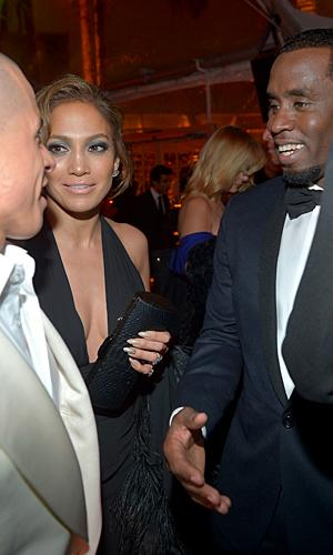 How Jennifer Lopez handled her exes at the Golden Globes