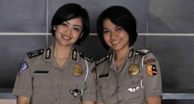 Brigadir Avvy, Brigadir Astri (Yahoo! Indonesia/Bernard Chaniago)