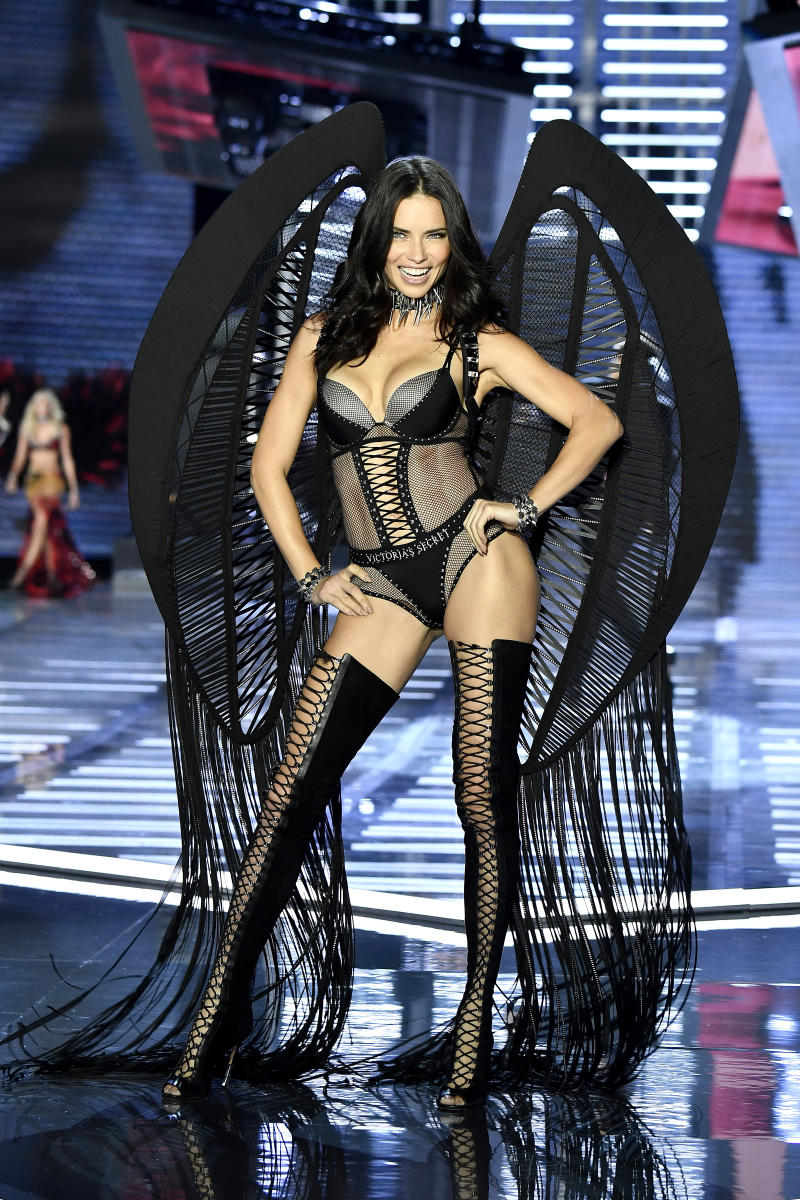 Adriana Lima on the Victoria's Secret catwalk
