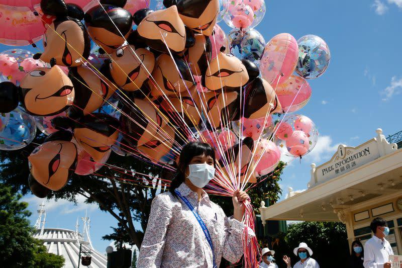 Hong Kong's Disneyland to reopen on Sept 25