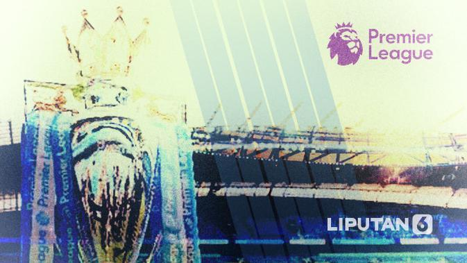 ilustrasi liga inggris (Liputan6.com/Abdillah)