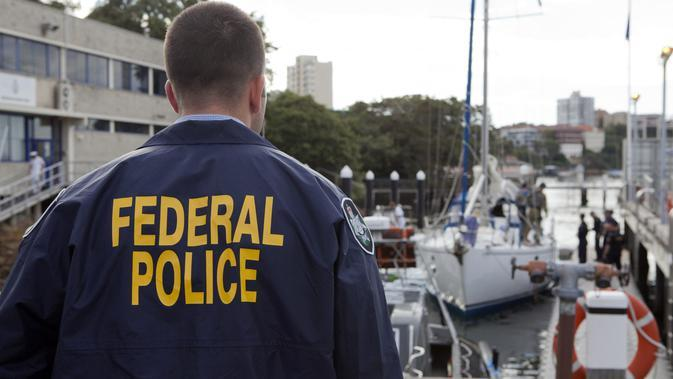 Polisi federal Australia (STR/Australian Federal Police/AFP)