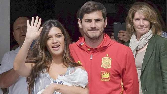Sara Carbonero dan Iker Casillas memperkenalkan putra kedua mereka (Pulse)