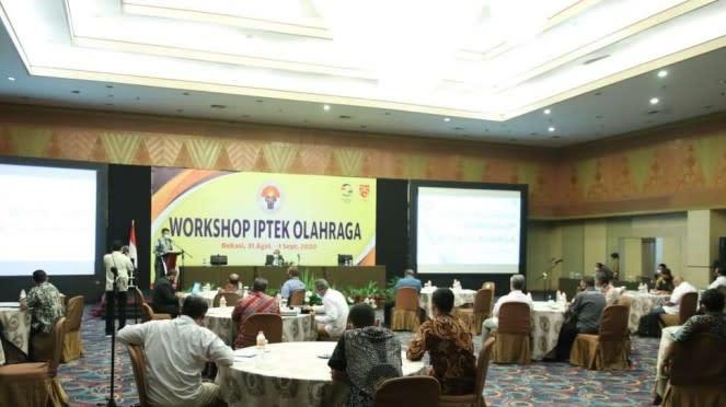 Kemenpora Gelar Workshop IPTEK Olahraga Jelang HAORNAS