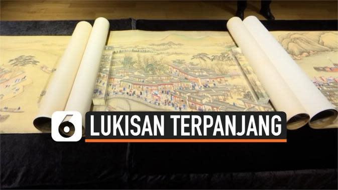 VIDEO: Lukisan Tiongkok Berusia 300 Tahun dipamerkan ke Publik