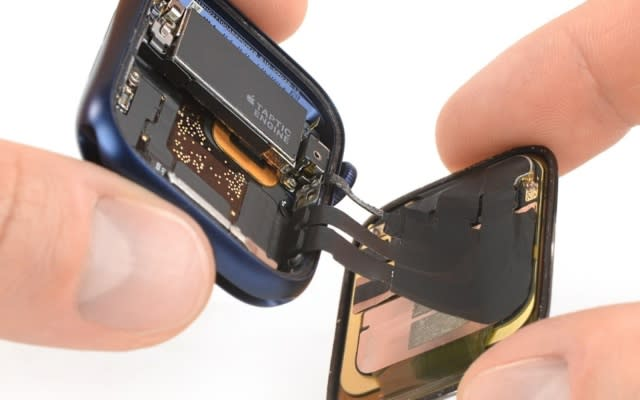 Apple Watch Series 6 iFixit tear down
