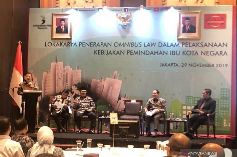 Menteri PPN rombak 43 regulasi siapkan ibu kota baru