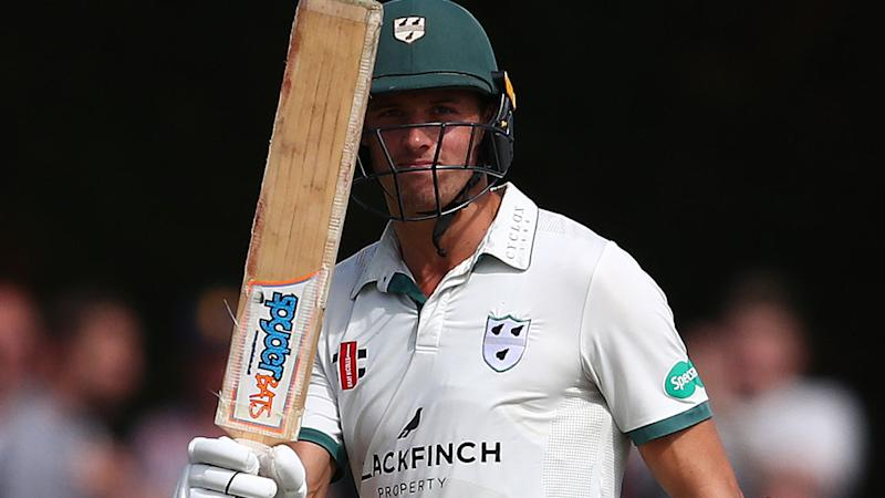 Charlie Morris also made a half-century for Worcestershire