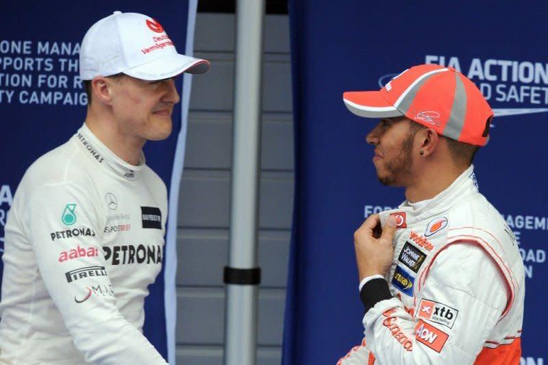 Statistik Hamilton vs Schumacher sejauh ini
