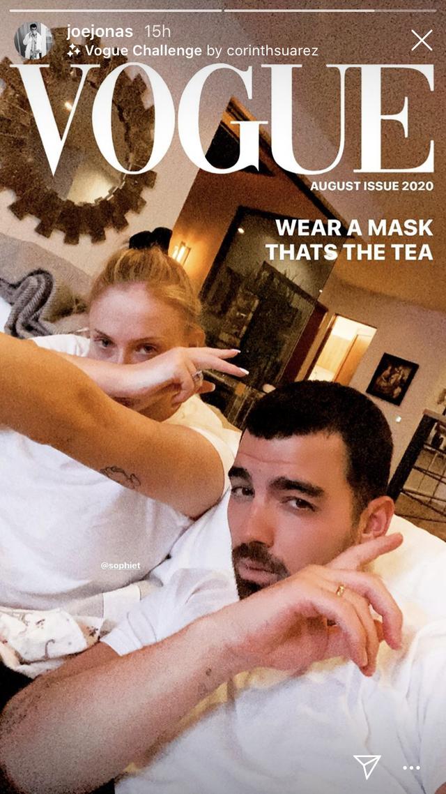 Photo credit: Joe Jonas - Instagram