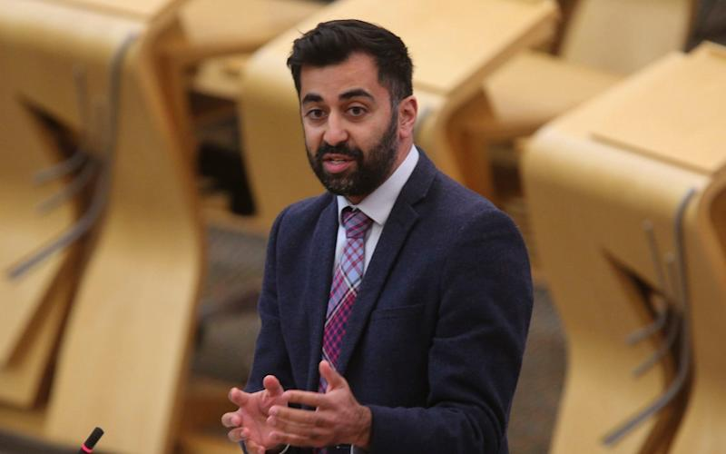 Humza Yousaf, the SNP justice secretary, is steering the Bill through Holyrood - Fraser Bremner/PA