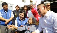 雲林縣長張麗善探訪百歲人瑞 贈重陽禮金祝呷百二