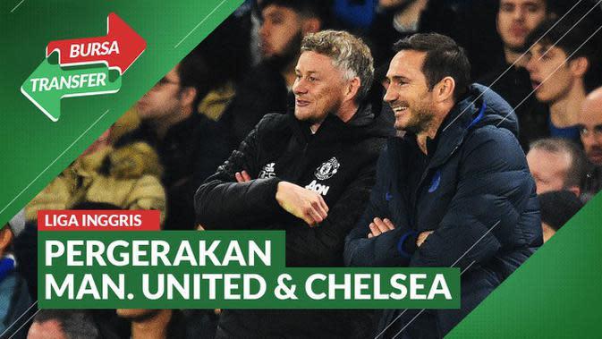 VIDEO: Bursa Transfer Liga Inggris dalam Sepekan, Cek Pergerakan Manchester United dan Chelsea