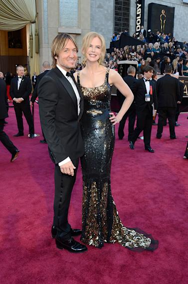 85th Annual Academy Awards - Arrivals: Nicole Kidman and Keith Urban