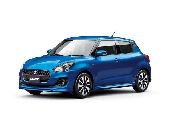 造型動力全面進化Suzuki Swift
