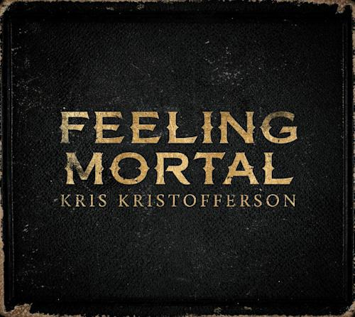 "This CD cover image released by KK shows ""Feeling Mortal,"" by Kris Kristofferson. (AP Photo/KK)"