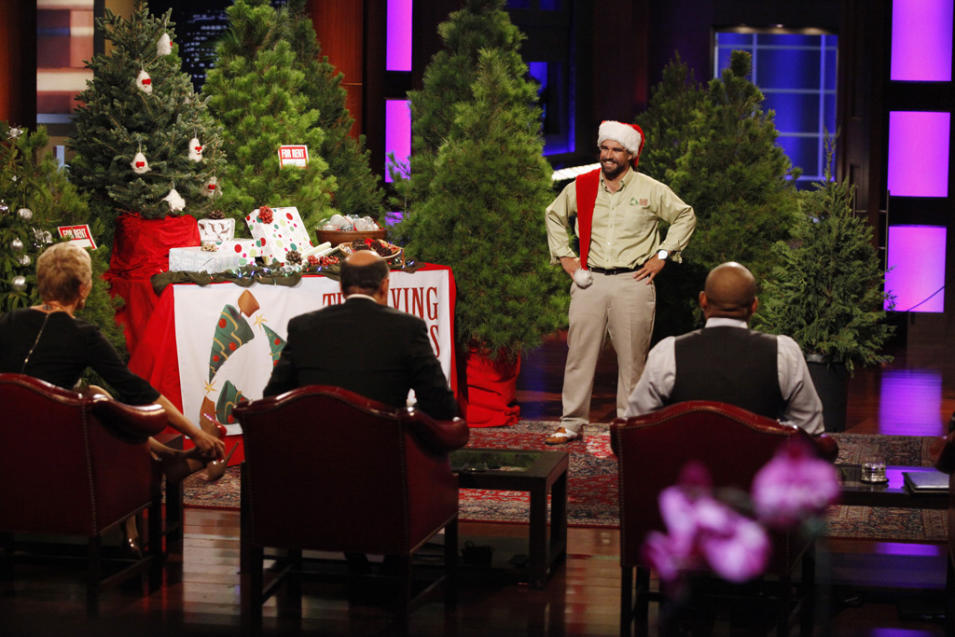 """Shark Tank"" on ABC Tuesday, 12/4 at 8pm"