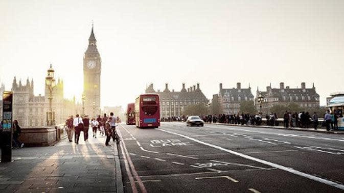 Ilustrasi London. (iStockphoto)