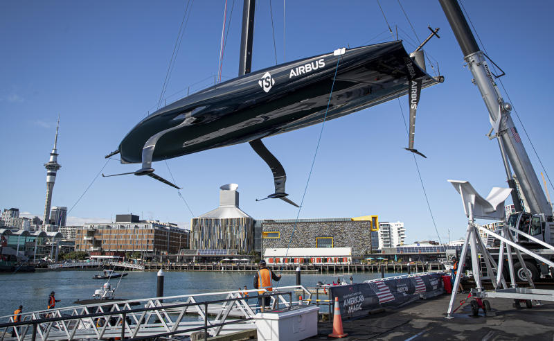 New Zealand America's Cup American Magic