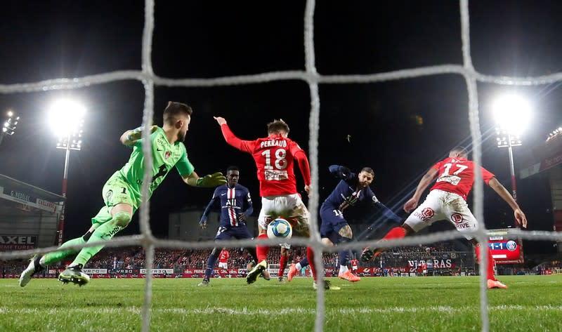 Ligue 1 - Brest v Paris St Germain