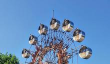 台中石頭公園內摩天輪 成攝影玩家拍照景點 (圖)