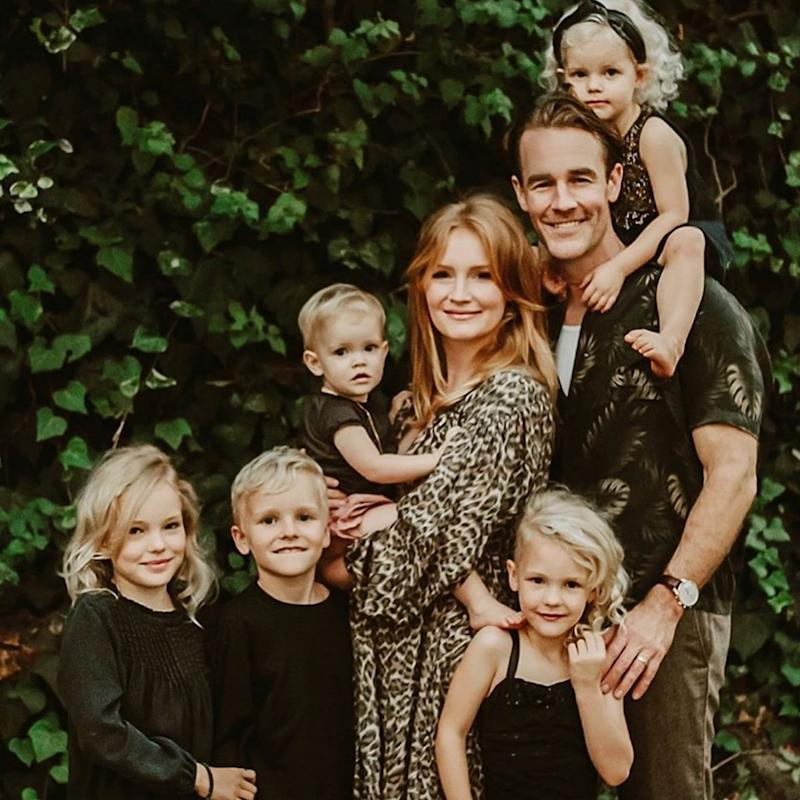 James Van Der Beek Is About to Be a Dad of 6! His Wife Kimberly Is Expecting Another Baby