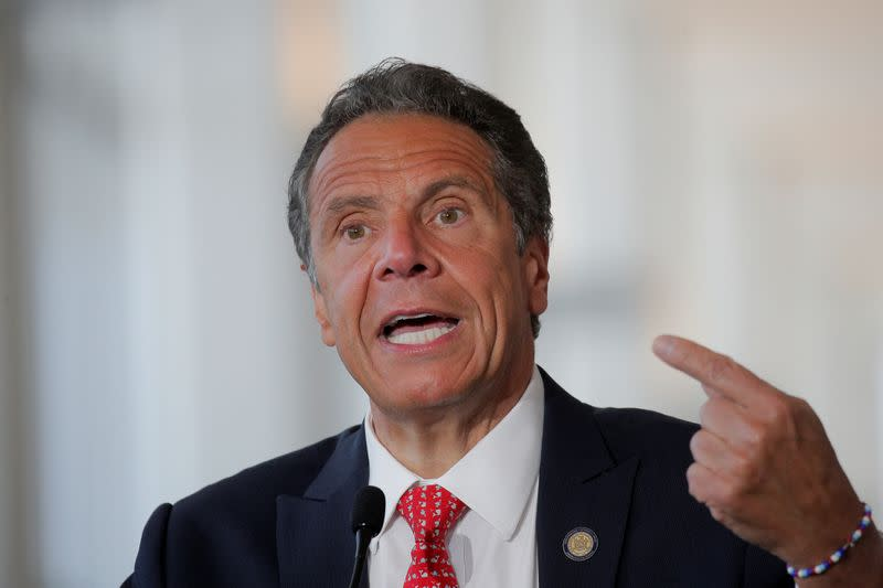 New York's Cuomo says 'time to wake up, America' as other states see COVID-19 spikes