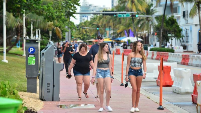 Anak-anak muda di Miami.