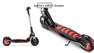 都市移動新方案!Aprilia「eSR1」電動滑板車