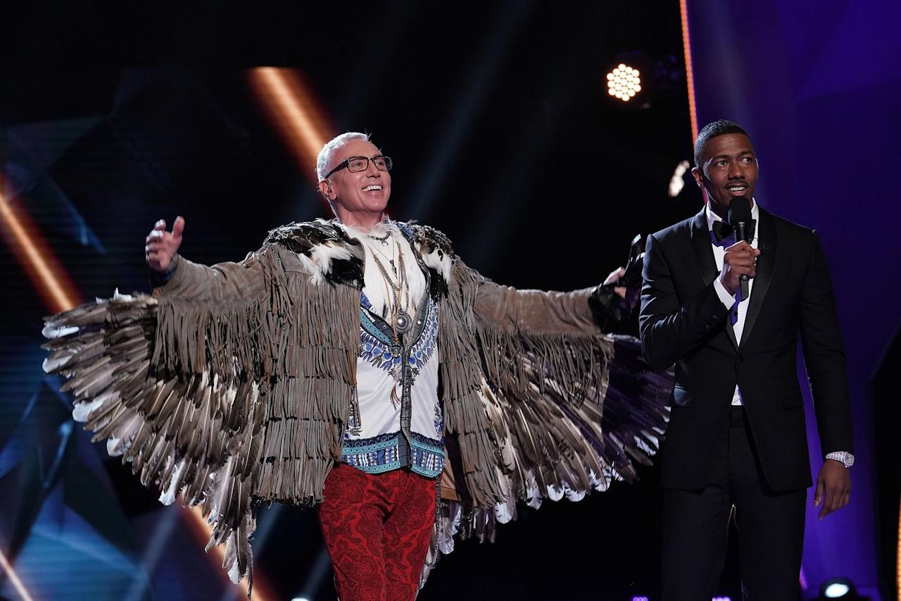 """<p>There's a set of <a href=""""https://www.cheatsheet.com/entertainment/the-masked-singer-do-the-celebrities-pick-their-costumes-on-the-show.html/"""" target=""""_blank"""">pre-selected costumes</a> that the celebs pick from and then are allowed to tweak to their liking. Host Nick Cannon told <em><a href=""""https://people.com/tv/masked-singer-nick-cannon-stars-identities-secret/"""" target=""""_blank"""">PEOPLE</a></em>, """"Usually their costumes are a clue to who they actually are.""""</p>"""