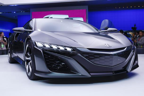 Updated Acura NSX concept steals the show from the MDX