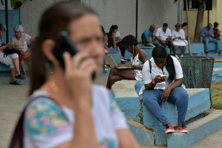 Cubans have relied for years on WiFi zones in public parks and squares